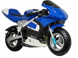 Gas Powered 33cc 2-Stroke Pocket Bike by MotoTec
