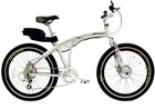 Genesis 250 Watt G Plus 7 Speed Folding  Electric  Bike Marine-Friendly