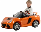 Kalee Lotus Exige 12v Kids Ride-on Car in Orange