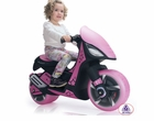 Injusa Dragon Kids 6v Pink Electric Scooter/Moped