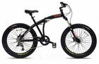 Mens Fitness Rugged Folding Mountain Bike(Non-Electric)