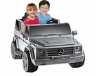 Mercedes Benz G55 12v Kids Ride-on Truck - 2 Seater