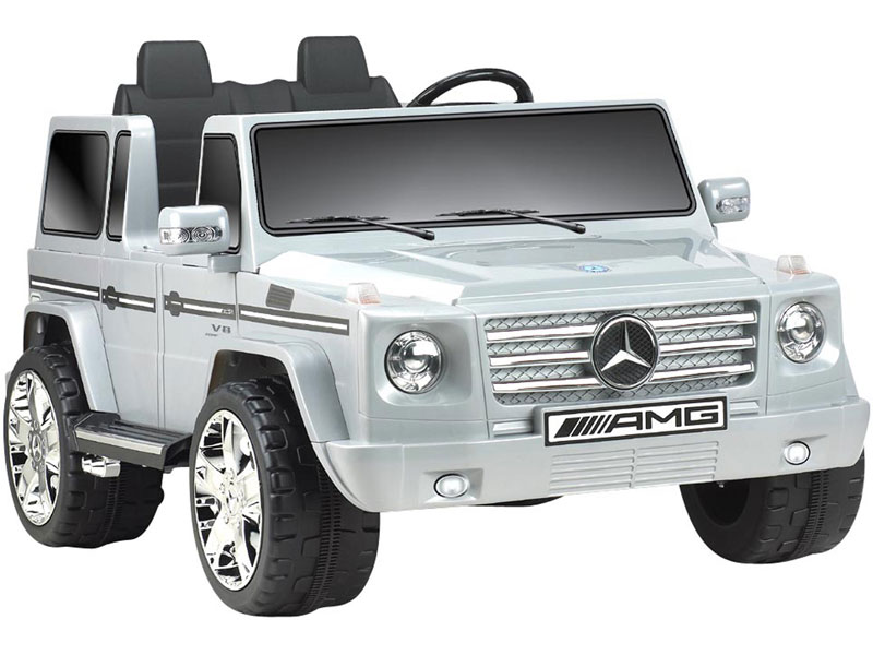 battery operated cars for children mercedes benz g55 12v kids ride on truck 2