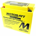12volt 12ah MotoBatt Quadflex Battery  (104-33)