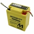 6volt 6ah MotoBatt Quadflex Battery (104-46)
