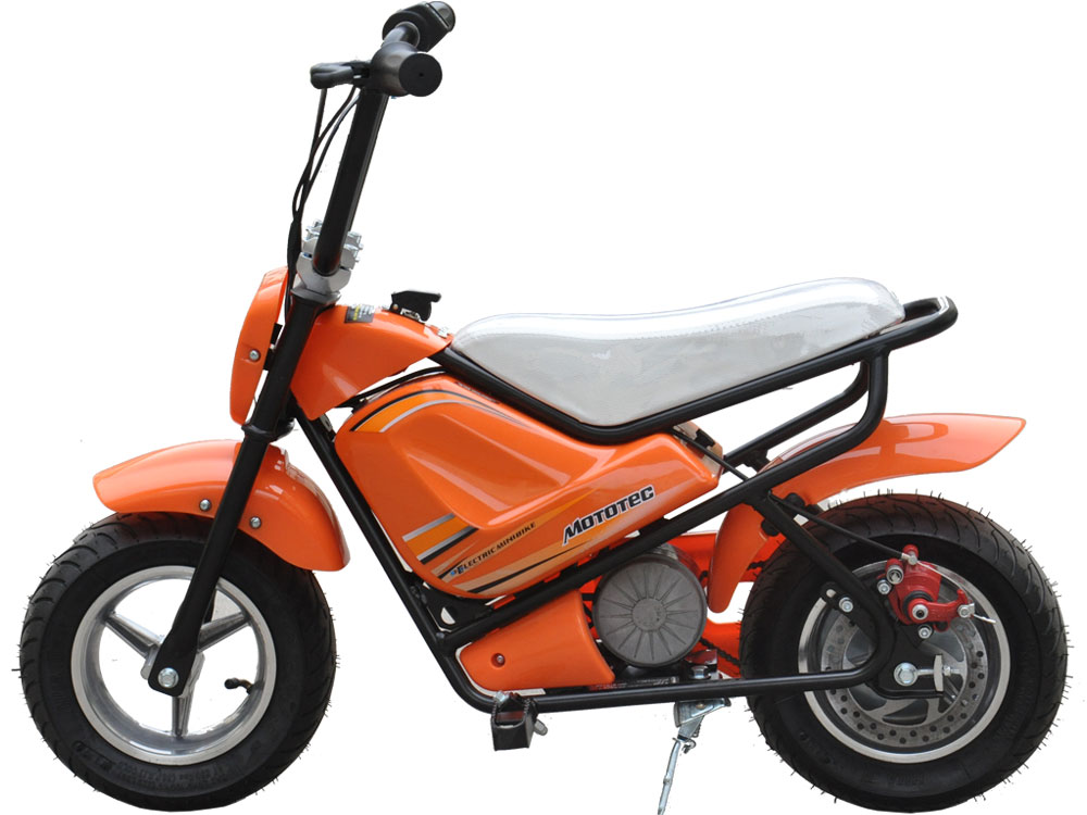 Mototec 250 Watt 24 Volt Kids Mini Electric Bike Scooter