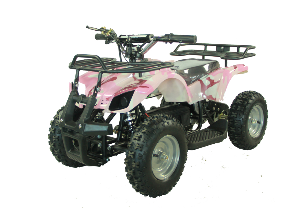 Kids Electric Atv Quad Sonora 350 Watt Motor 24 Volt W Reverse