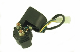 Solenoid for electric start scooter