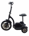 Q33 STAND & RIDE 3 Wheel Electric Utility Scooter 2014 Model W/ Folding Handlebar