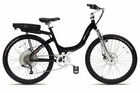 Stride 500 Black Stylish 36 Volt 500 Watt Motor Stride Step-through Electric Bike