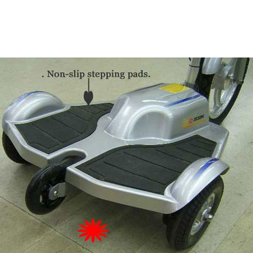 Trx Scooter 3 Wheel Electric Personal Transporter Stand
