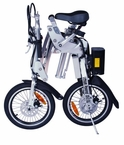 Xtreme XB-210Li Electric Bike, LiPo4 Batteries -300 Watts Hub Motor