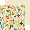 Bella Blvd - Hello Autumn Collection - 12 x 12 Double Sided Paper - Falling into Fall