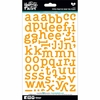 Bella Blvd - Illustrated Faith - 5 x 9 Alphabet Stickers - Typed - Practice What You Peach