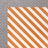 Crate Paper - After Dark Collection - Halloween - 12 x 12 Double Sided Paper with Glitter Accents - Candy