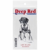 Deep Red Stamps - Cling Mounted Rubber Stamp - Lady in Lace