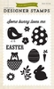 Echo Park - Happy Easter Collection - Clear Acrylic Stamps - Some Bunny Loves Me