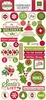 Echo Park - Home for the Holidays Collection - Christmas - Chipboard Stickers
