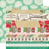Echo Park - Jack and Jill Collection - Girl - 12 x 12 Double Sided Paper - Border Strips