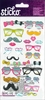EK Success - Sticko - Puffy Stickers - Glasses and Shades