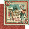 Graphic 45 - Christmas Carol Collection - 12 x 12 Double Sided Paper - Christmas Carol