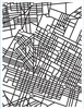 Hero Arts - BasicGrey - Second City Collection - Repositionable Rubber Stamps - City Map