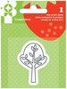 Imaginisce - Heartland Farm Collection - Snag 'em Acrylic Stamps - Tree