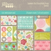 Jillibean Soup - Summer Red Raspberry Soup Collection - 6 x 6 Paper Pad