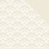 Kaisercraft - Back to Basics Collection - 12 x 12 Double Sided Paper - Beige Damask
