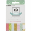 Kaisercraft - Captured Moments Collection - 3 x 4 Double Sided Journal Cards - Colour Splash