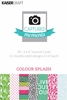 Kaisercraft - Captured Moments Collection - 4 x 6 Double Sided Journal Cards - Colour Splash