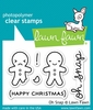 Lawn Fawn - Clear Acrylic Stamps - Oh Snap