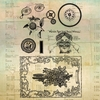 Marion Smith Designs - Junque Gypsy Collection - Clear Acrylic Stamps - Rhapsody