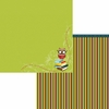 Moxxie - Brainiac Collection - 12 x 12 Double Sided Paper - Smart-owl-ic