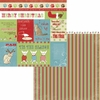 Moxxie - Happy Pawlidays Collection - Christmas - 12 x 12 Double Sided Paper - Pawliday Cutouts