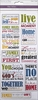 Multi Craft - Clear Stickers - Family Sentiments