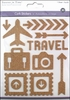 Multi Craft - Cork Stickers - Element - Travel