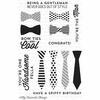 My Favorite Things - Lisa Johnson Designs - Clear Acrylic Stamps - Terrific Ties