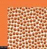 Pebbles - Boo Collection - Halloween - 12 x 12 Double Sided Paper - Jack-O-Lantern