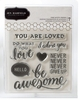 Pebbles - Cottage Living Collection - Clear Acrylic Stamps