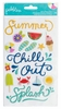 Pebbles - Fun In The Sun Collection - Puffy Stickers - Phrase