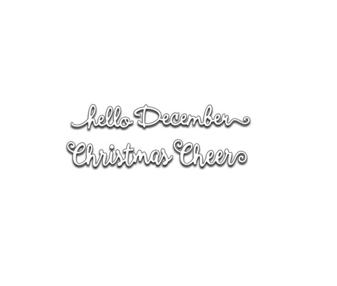 Penny Black - Christmas - Creative Dies - Hello Christmas