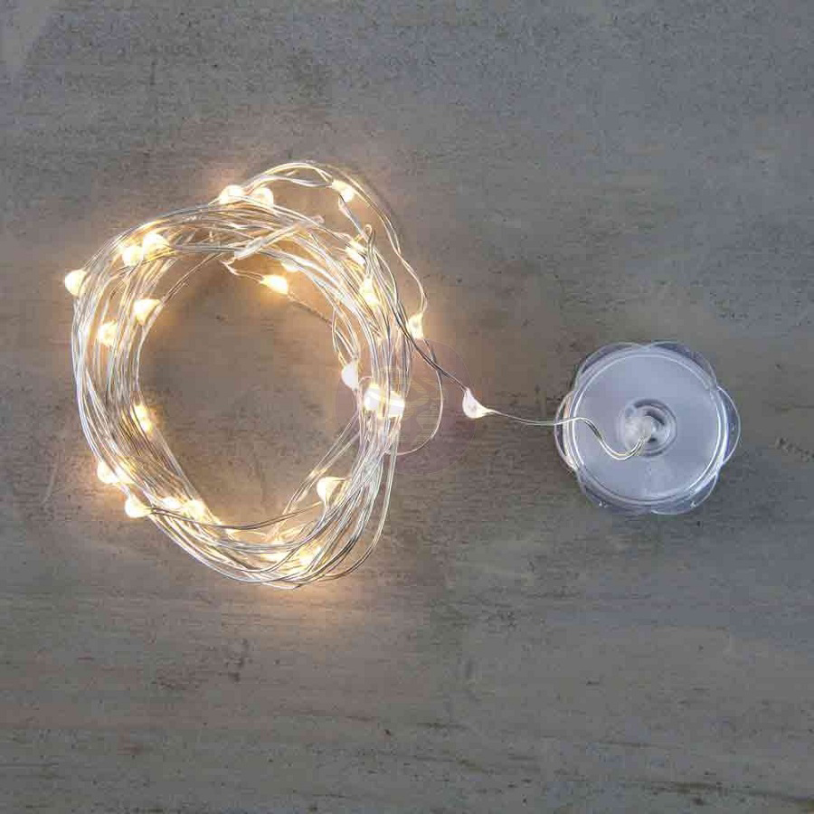 Prima - Lumies - LED Lights - 3 Yards - Warm White