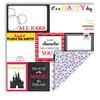 Queen and Company - Magic Collection - 12 x 12 Double Sided Paper - Magic Tags