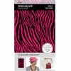 SEI - Iron-On Art - Flocked Transfer Sheet - Hot Pink Zebra