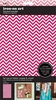 SEI - Iron-On Art - Flocked Transfer Sheet - Pink Chevron