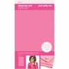 SEI - Iron-On Art - Flocked Transfer Sheet - Pink Polka Dot