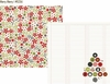 Simple Stories - DIY Christmas Collection - 12 x 12 Double Sided Paper - Merry Merry
