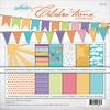 Spellbinders - Celebrations Collection - 12 x 12 Paper Pack - Prints