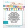 Spellbinders - Celebrations Collection - Clear Acrylic Stamps - Doily Fun